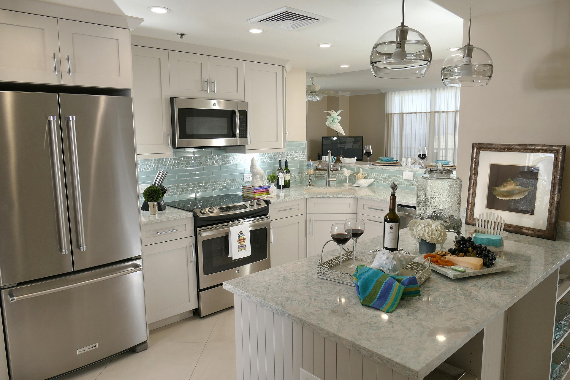 Image showing the kitchen after remodeling was complete